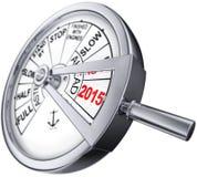 Concetto 2015 Fotografie Stock