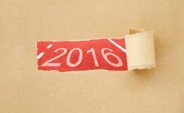 concetto 2016 Fotografie Stock