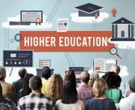 Concetto accademico dell'aiuto economico del celibe di istruzione superiore Immagini Stock