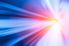 Concetto ad alta velocità più veloce commovente, veloce veloce eccellente di accelerazione Fotografia Stock Libera da Diritti