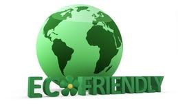 Concetto amichevole di Eco Fotografie Stock