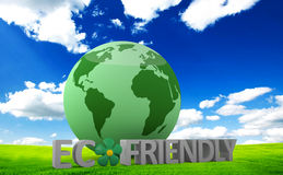 Concetto amichevole di Eco Immagine Stock