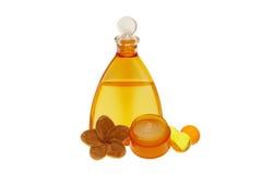 Concetto arancio della stazione termale Immagini Stock
