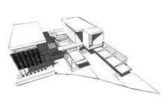Concetto architettonico Fotografie Stock
