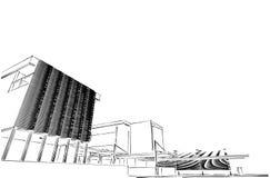 Concetto architettonico Fotografia Stock Libera da Diritti