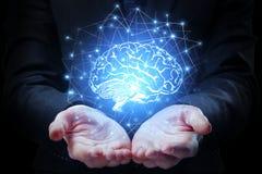 Concetto artificiale di mente immagini stock libere da diritti