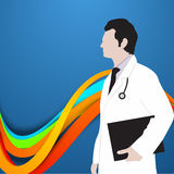 Giorno di salute di mondo, Immagini Stock Libere da Diritti