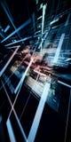 Concetto astratto di tecnologia complessa Immagini Stock Libere da Diritti