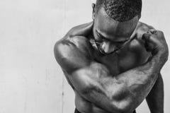Concetto attivo di allenamento di sport della gente Fotografie Stock Libere da Diritti
