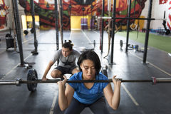 Concetto attivo di allenamento di sport della gente Fotografia Stock Libera da Diritti