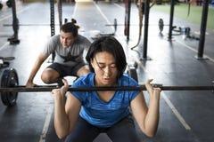 Concetto attivo di allenamento di sport della gente Immagini Stock Libere da Diritti