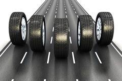 Concetto automobilistico illustrazione vettoriale