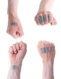 Concetto biometrico di identificazione. Immagine Stock Libera da Diritti