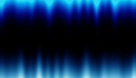 concetto blu drammatico del fondo dell'onda Immagini Stock Libere da Diritti
