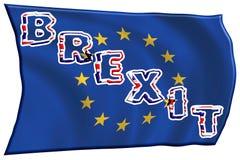 Concetto Brexit L'Inghilterra e UE illustrazione vettoriale