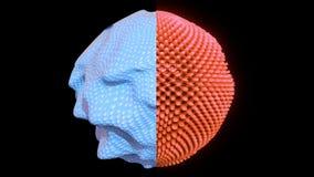 concetto cellulare astratto di ricerca 4K vibrazione di fantascienza royalty illustrazione gratis