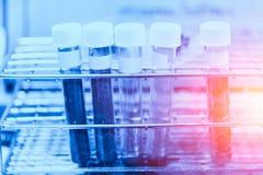 Concetto chimico del laboratorio di ricerca medica fotografia stock