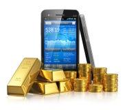 Concetto commerciale del mercato azionario Immagine Stock Libera da Diritti
