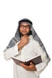 Concetto con l'uomo arabo Immagini Stock Libere da Diritti