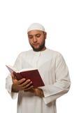 Concetto con l'uomo arabo Immagini Stock