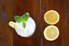 Concetto con limonata Fotografie Stock Libere da Diritti