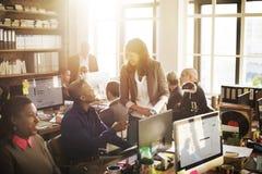 Concetto corporativo di lavoro di squadra di Coooperation Archievement immagine stock