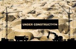 Concetto in costruzione Immagine Stock