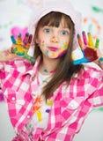 Concetto creativo del bambino Fotografia Stock