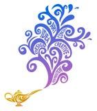 Concetto creativo della lampada royalty illustrazione gratis