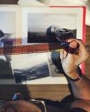 Concetto creativo dello studio di progettazione di occupazione di idee di fotografia Immagini Stock Libere da Diritti