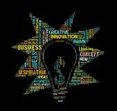 Concetto creativo di idee Immagini Stock Libere da Diritti