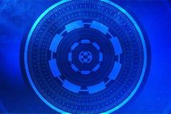 Concetto cyber del pirata informatico Fotografie Stock