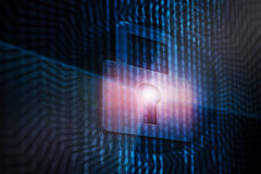 Concetto cyber di sicurezza Immagine Stock