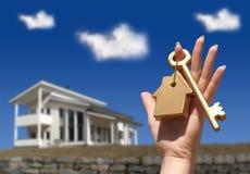 Concetto d'acquisto della casa fotografia stock libera da diritti