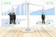 Concetto d'equilibratura Fotografie Stock Libere da Diritti