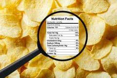 Concetto degli alimenti industriali Fotografia Stock Libera da Diritti
