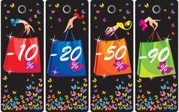 Concetto dei contrassegni di vendita Immagini Stock Libere da Diritti