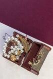 Concetto dei gioielli Fotografia Stock