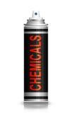 Concetto dei prodotti chimici Immagine Stock Libera da Diritti
