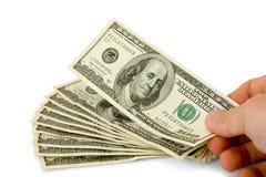 Concetto dei soldi Fotografia Stock Libera da Diritti