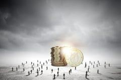 Concetto dei soldi Immagini Stock Libere da Diritti