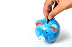 Concetto dei soldi di risparmio Immagini Stock