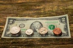 Concetto dei soldi di risparmio in crisi e finanze domestiche, finanza Fotografie Stock