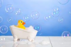 Concetto del bagno Fotografia Stock