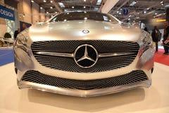 Concetto del benz di Mercedes un codice categoria Fotografia Stock Libera da Diritti
