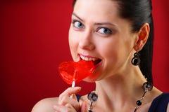 Concetto del biglietto di S. Valentino Immagini Stock Libere da Diritti