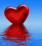 Concetto del biglietto di S. Valentino royalty illustrazione gratis