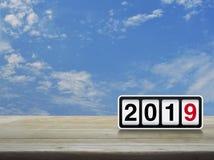 Concetto 2019 del buon anno di affari Fotografia Stock
