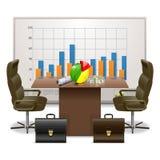 Concetto del business plan di vettore Fotografia Stock