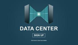 Concetto del centro dati royalty illustrazione gratis